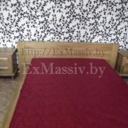 Двуспальная кровать из дерева цена