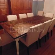 Обеденный стол из массива купить
