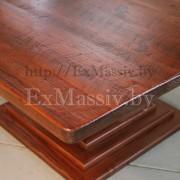 Квадратный кухонный стол из массива