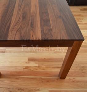 Кухонный стол из дерева орех