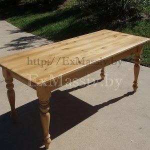 Кухонный стол из сосны