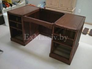 каркас письменного стола из дерева