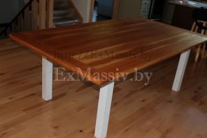 Кухонный стол из ольхи