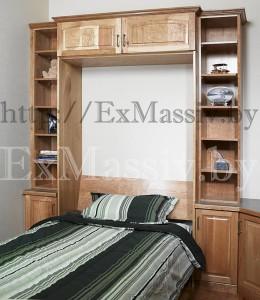 Деревянная кровать шкаф в Минске