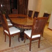 Деревянный обеденный стол на заказ