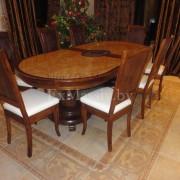 Деревянный обеденный стол из дуба цена