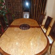 Деревянный обеденный стол столешница