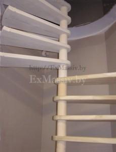 Степени для винтовой лестницы из дерева