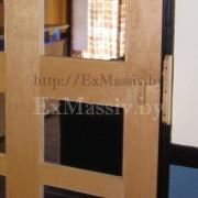 Раздвижные двери из ольхи