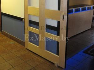 Раздвижные двери из массива купить