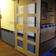 Раздвижные двери из массива на заказ