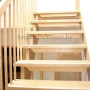 Подъем лестницы с поворотом