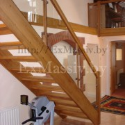 лестница прямая деревянная купить