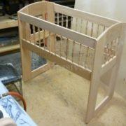 детская кроватка из дерева верхняя часть