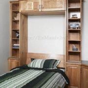 кровать шкаф из дуба купить
