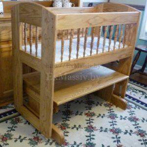 детская кроватка из дерева купитьдетская кроватка из дерева купить