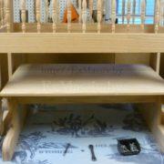 детская кроватка из дерева система люлька