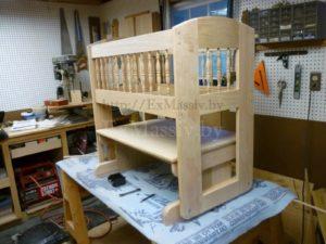 детская кроватка из дерева дуба купить