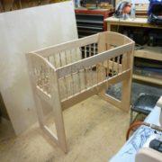 детская кроватка из дерева изготовить