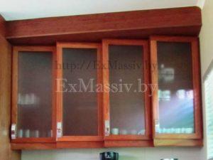 Шкафчики для кухни из ясеня