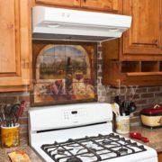 Шкафчики для кухни из ольхи