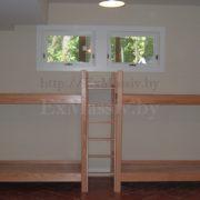двухъярусная кровать из дерева Минск