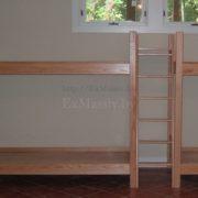 двухъярусная кровать из дерева купить