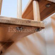 Ступени для лестницы из массива ясеня
