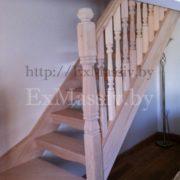 Лестница с поворотными ступенями на заказ