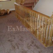 Балкон для дубовой лестницы