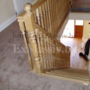 Перила для дубовой лестницы
