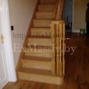 Ступени для дубовой лестницы