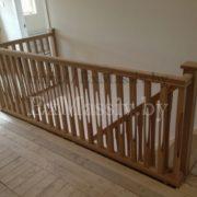 Балясины для лестницы из массива бука