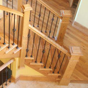 Лестница из ясеня купить