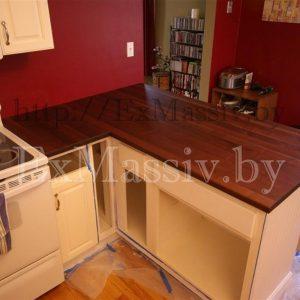 Столешница для кухни из дуба