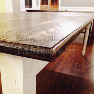 Кухонный стол из дуба