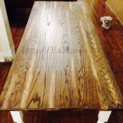Кухонный стол из дуба фото