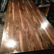 Кухонный стол из дуба столешница
