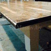 Кухонный стол из дуба под заказ