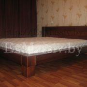 Двуспальная кровать из дуба купить