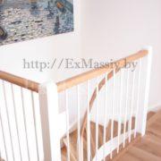 Изготовление лестниц на заказ с поручнем