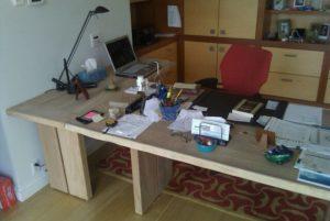 Письменный стол из массива дуба на заказ