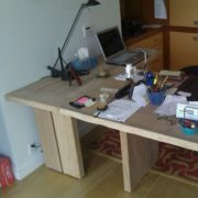 Письменный стол из массива дуба в Минске