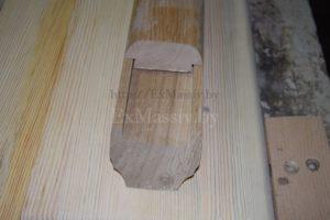 Поручень деревянный на заказ