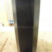 Обеденный стол из массива дерева нога