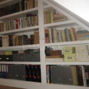 Книжный шкаф из массива фото