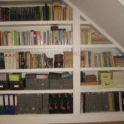 Книжный шкаф из массива в Минске