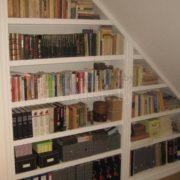 Книжный шкаф из массива на заказ