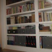 Книжный шкаф из массива купить