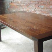 Дубовый стол фото